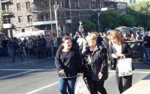 Митинг в Ереване - ОБНОВЛЕНО