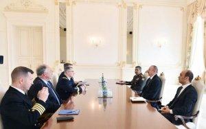 Генерал НАТО на переговорах с Ильхамом Алиевым