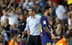 Messi etiraz etdi, Valverde susdu