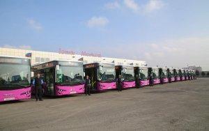 """Avtobuslarda """"Təhlükəsizlik ayı""""na start verildi"""