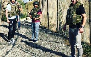 Футболисты «Карабаха» в прифронтовой зоне - ФОТО