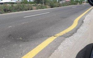Построили дорогу, которая обвалилась через месяц
