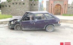 В результате ДТП в Загатале пострадали 4 человека