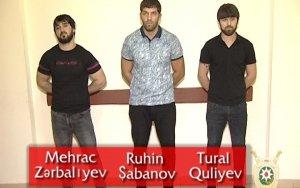 В Баку задержаны вооруженные лица