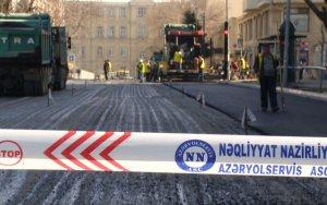 На двух улицах Баку частично ограничат движение