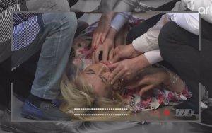 Заслуженная артистка потеряла сознание в эфире – ВИДЕО