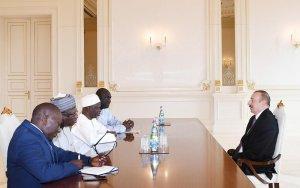 Президент принял главу МИД Гамбии