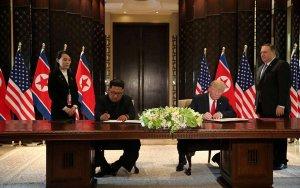 О чем договорились Трамп и Ким Чен Ын?