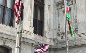 В Филадельфии подняли азербайджанский флаг – ФОТО