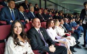 Президент на церемонии открытия ЧМ по футболу