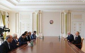 Президент Азербайджана принял иранского министра