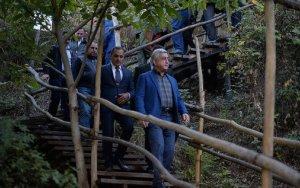 Саргсян вернулся из Италии и отправился в Карабах