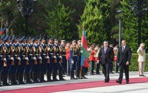 Состоялась церемония официальной встречи президента Таджикистана