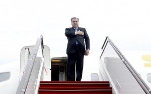 Завершился официальный визит президента Таджикистана в Азербайджан