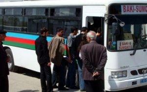 Bakı-Sumqayıt avtobuslarında gediş haqqı ENDİRİLDİ