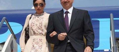 Ильхам Алиев и первая леди отправились в США
