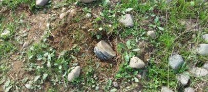 В Агдаме найдена мина армянского производства