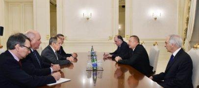 Ильхам Алиев принял Лаврова