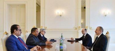 Ильхам Алиев принял генсека ОПЕК