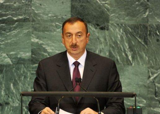 Azərbaycan prezidenti bu gün BMT Baş Assambleyasında çıxış edəcək