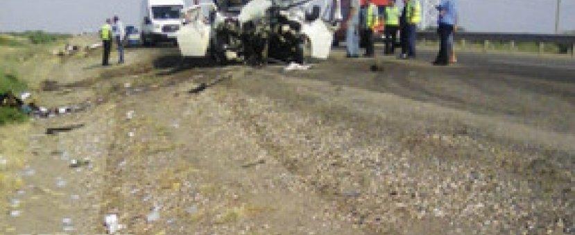 В Геранбое произошло ДТП, есть пострадавшие